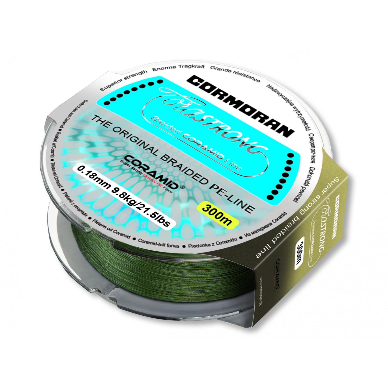 Cormoran Corastrong gr/Ã/¼n 0.10mm 4.6kg 300m