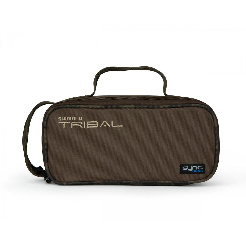 SHIMANO Tribal Sync Gear 13,5x12,5x10cm Anglerzubeh/ör Tasche Bleitasche mini SHTSC09