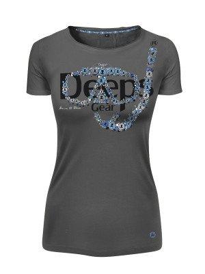 Deeps Gear Woman T-Shirt, Metal Mask