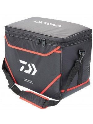 Daiwa Kühltasche Carryall, schwarz-rot, 48x28x36cm