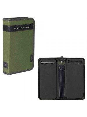 Daiwa Black Widow Rig Wallet, 29 x 37 x 4.8 cm, Rig-Tasche, grün