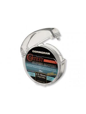 Cormoran Cortest Super Match transparent 0.22mm 4.8kg 30m - Vorfachschnur