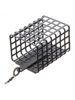 Cormoran Metallfeeder eckig, bleifrei, 30x25mm, 44mm, 40g, für alle Einsatzbereiche