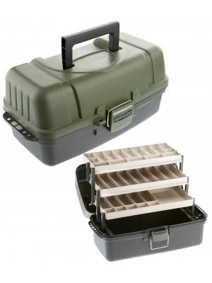 Cormoran Gerätekoffer Modell 10004, 48 x 25 x 25cm, 3-ladig, extra groß