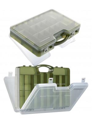 Cormoran Gerätebox Modell 10021, Kunstköder- und Allroundbox, 30 x 21 x 7cm, 2-ladig