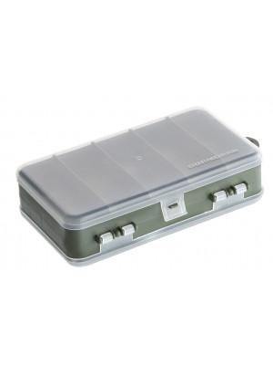 Cormoran Gerätebox Modell 10023, Kunstköder- und Kleinteilebox, 18 x 11 x 5cm, 2-ladig