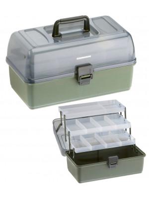Cormoran Gerätekoffer Modell 11004, 36 x 20 x 20cm, 3-ladig