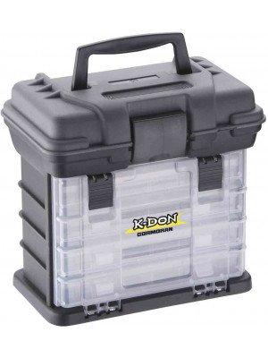 K-DON Gerätekoffer Modell 1005, Kompakt, 28 x 18 x 27 cm