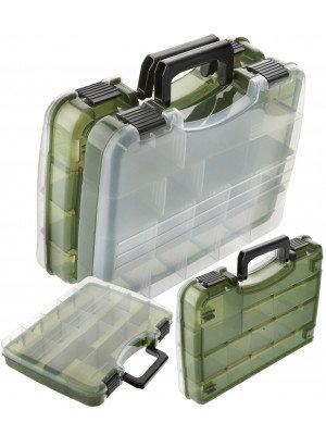 Cormoran Gerätekasten Modell 10015, Kunstköderbox, 28 x 22 x 6cm, zusammengesteckt