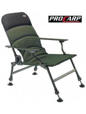 PRO CARP Allround Karpfenstuhl mit Armlehne, Modell 7100