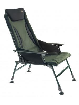 PRO CARP Karpfenstuhl mit Armlehne, mit Nierenschutz, Modell 7300