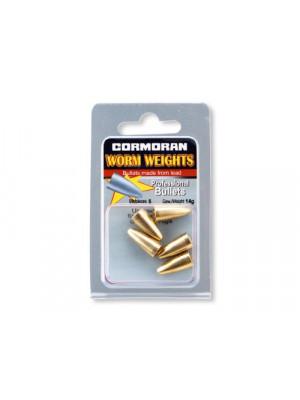Cormoran Bullet Weights, 7g, 5 Stk, aus Messing