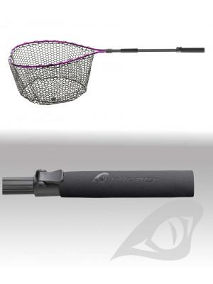 Daiwa Prorex Unterfangkescher, 70x50cm, Netz mit Gummimischung