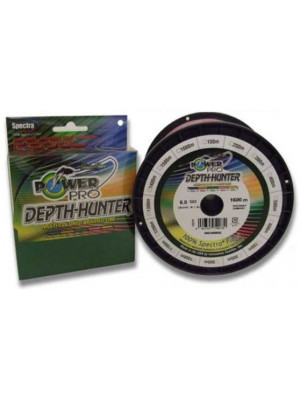 Power Pro Depth-Hunter Multi Colour 300m 0,13mm 8kg