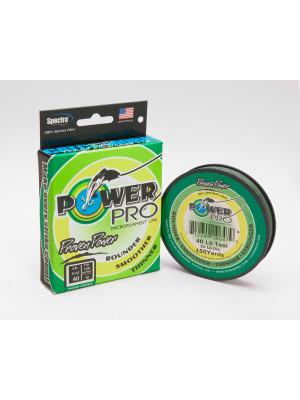 Power Pro Super Line 275m 0,46mm 55kg, moosgrün - geflochtene Angelschnur