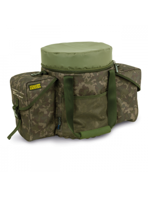 Shimano Tribal XTR Bait Bucket Seat, 54cmx30cmx39cm, Zubehörtasche, Ködertasche