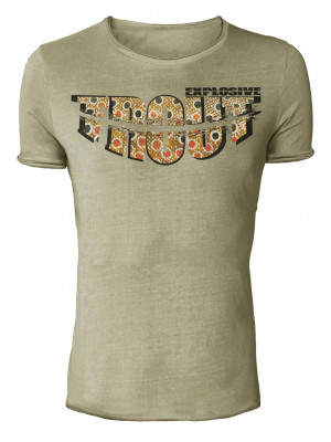 Hotspot Design Angler T-Shirt Explosive Trout - Collection Vintage